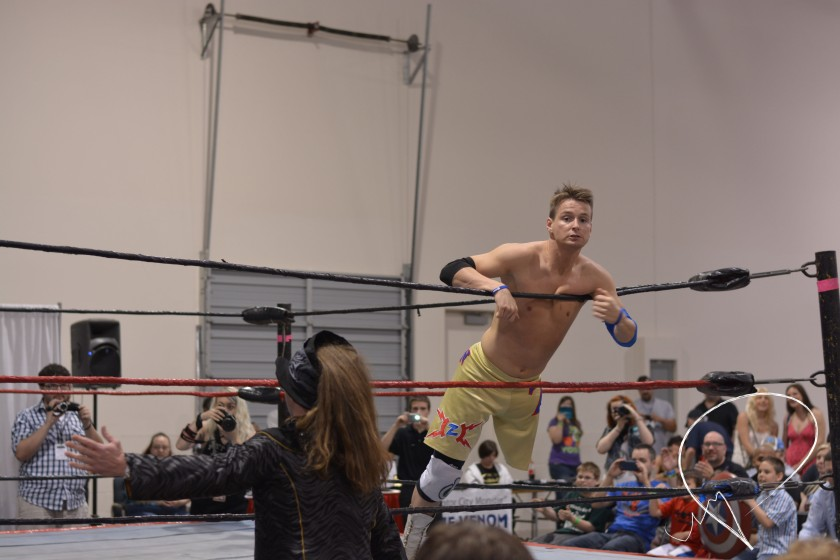 Former WWE wrestler, Zach Gowen