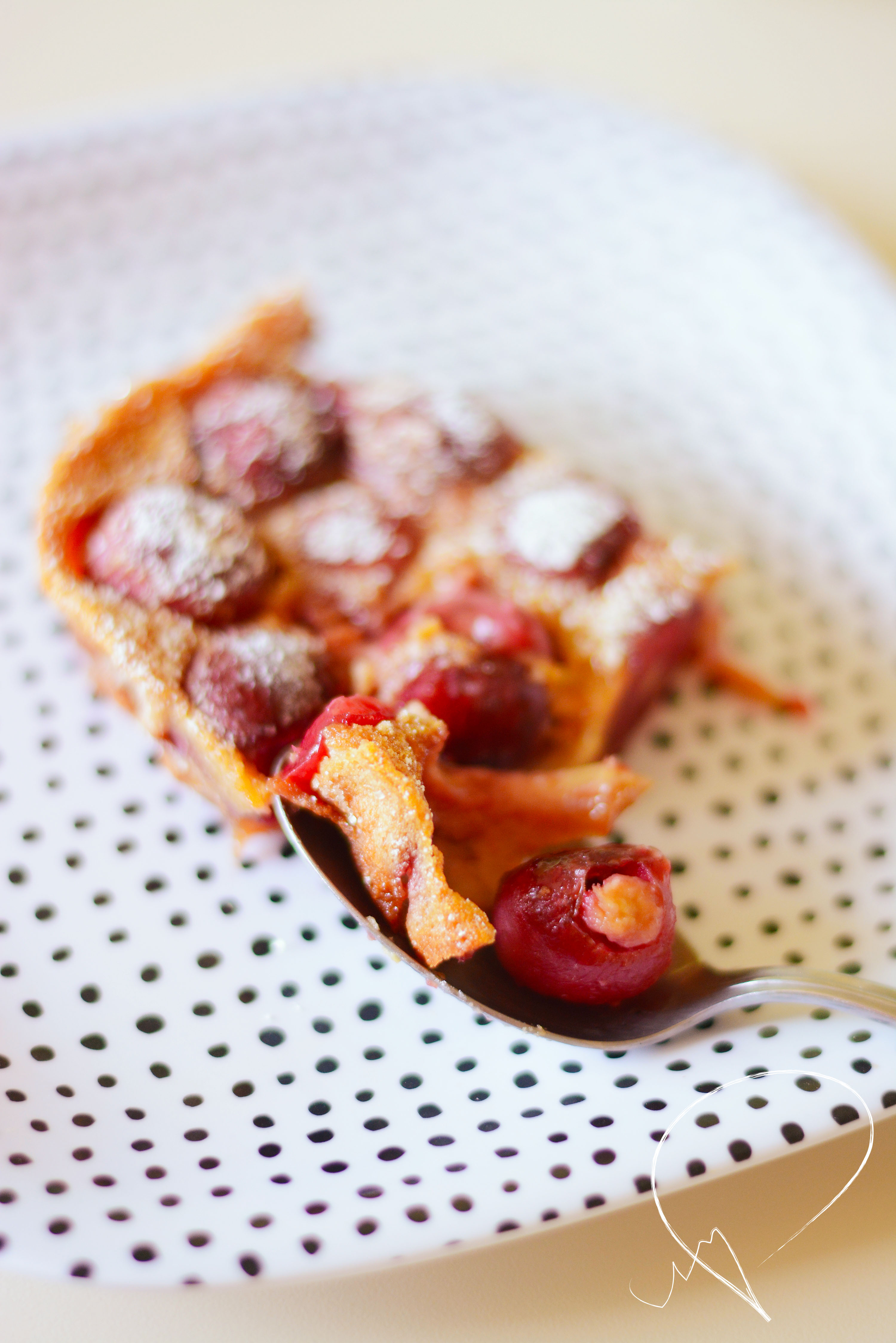 Apricot & Cherry Clafoutis | Vivography